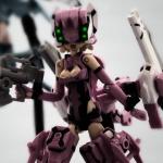 武装神姫の撮影