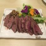 カンガルー肉というのを食べました